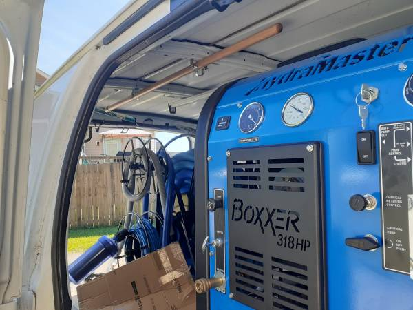 boxxer 318 hp truckmount